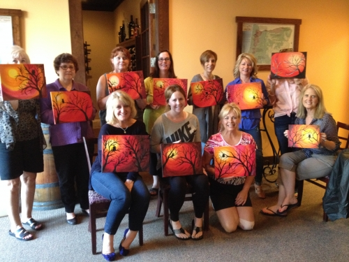 Dabble & Design          @   Grapes To Wine    in October